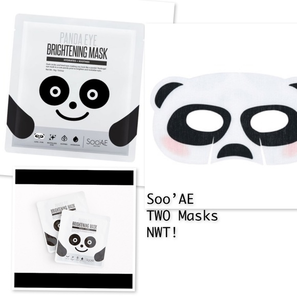 Soo'AE Other - 💋 3 for $15!   Soo 'AE PANDA Brightening Mask x 2